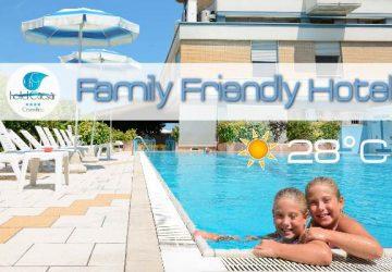 Hotel caesar cesenatico in prima linea sul mare per famiglie e bambini con piscina riscaldata e - Hotel con piscina riscaldata per bambini ...